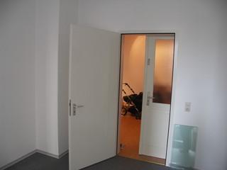 [Bild:Reinsburgstraße leer: Arbeitszimmer, Diele]