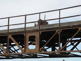 [Bild:Altes Wehr in Castiglione della Pescaia: Detail]