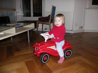 [Bild:Das erste eigene Auto]