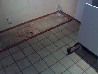 [Bild:Das traurige Ende einer Einbauküche 4]