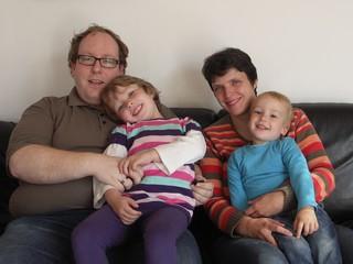 [Bild:Familienportrait für Christophs Kindergartenbuch]