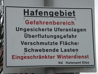 [Bild:Hafen ist sehr gefährlich]