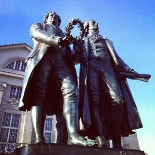 [Bild:Dichterfürsten  @ Goethe- und…]
