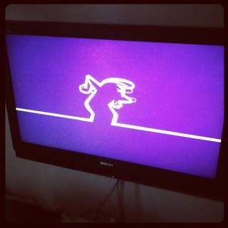 [Bild:Im Fernseher schimpft ein Stri…]