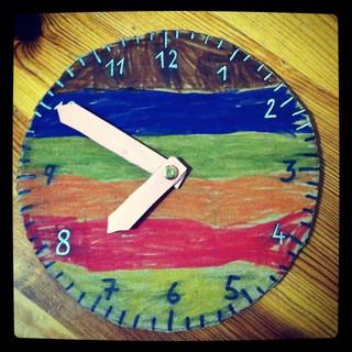[Bild:Mit Kind.eins heute eine Uhr g…]