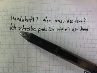 [Bild:Meine #Handschrift habe ich sc…]
