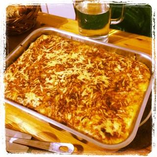 [Bild:Möchte jemand Lasagne?]