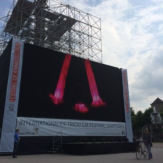 [Bild:Open-Air-Kino @ Schloßplatz]