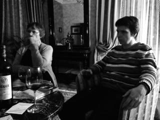 [Bild:Noch einen Wein im Hotel]