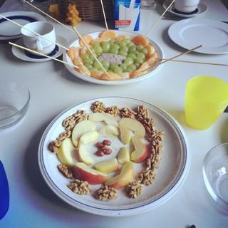 [Bild:Die Kinder wollten Frühstück machen, und es sieht…]
